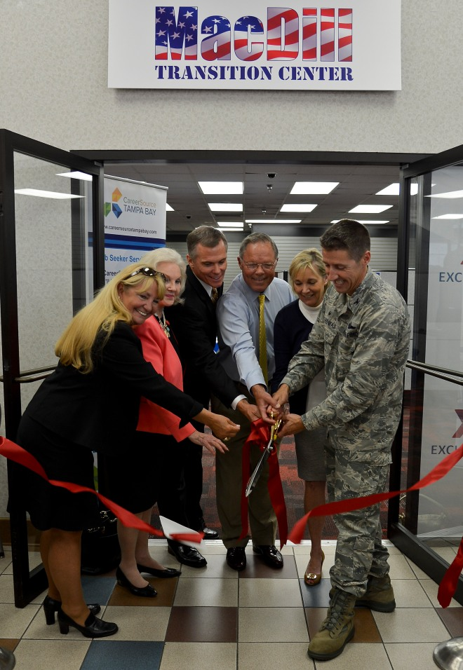 military transition center at macdill air force base now