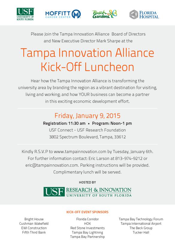 TIA140002 Tampa Innovation Alliance Invite