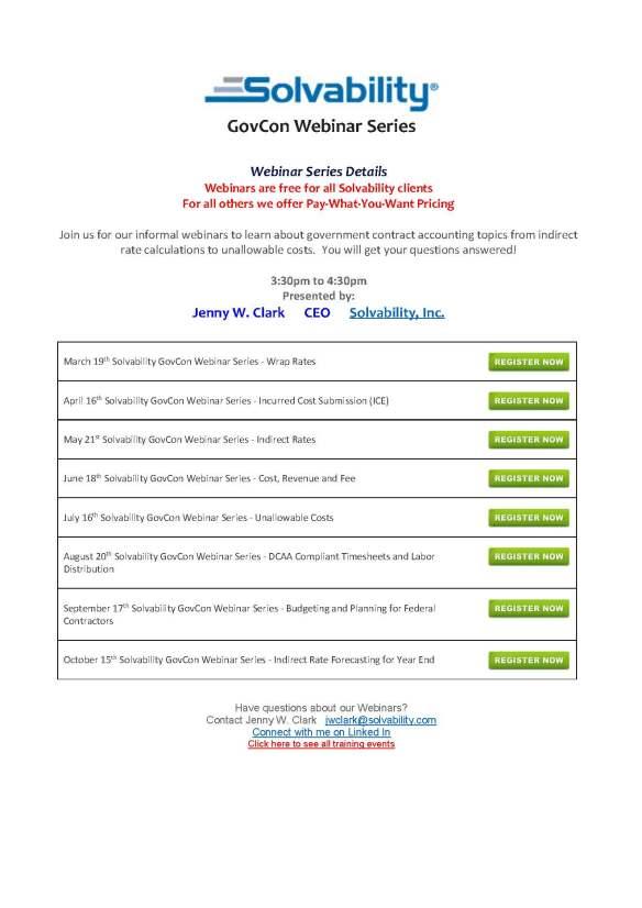 Solvability GovCon Webinar Series (2)