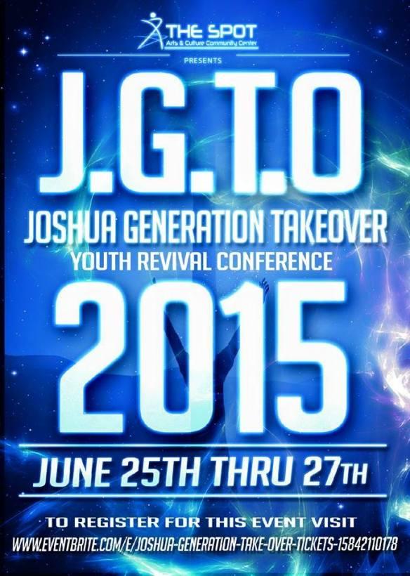 J.G.T.O 2015 flyer