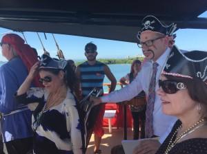 Abroad Captain Memo's Pirate Ship