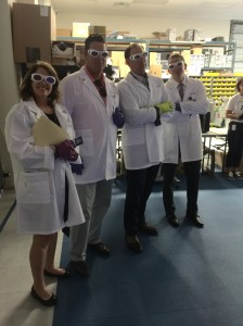 Diane McKelvey (AMB), Dean Kent (Trenam Law), Brian Adcock (Adcock Financial Group) and Matt Michini (Michini Wealth Mgmt.)